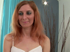 Redhead With Hairy Pussy Gets Fucked..