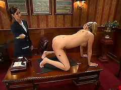 Nice Codi Milo gets tied up and toyed..
