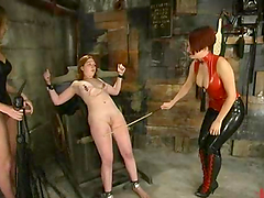 Severe BDSM story with two mistresses..