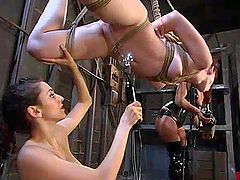 Redhead Gets Toyed and Tortured in..