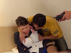 Kinky Bondage and Fingering for Busty Asian Reiko Kobayaka