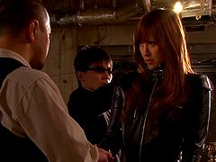 Undercover Japanese Agent Sucks Cock..