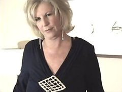 Hot Blonde Granny Gets Fucked and..