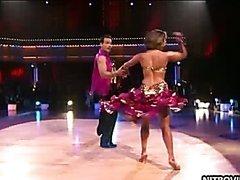 Exotic Celeb Cheryl Burke Wearing a..