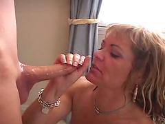 Close Up Cumshot Action as This Couple..