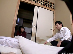 Chubby Asian MILF Sucks Cock Before..