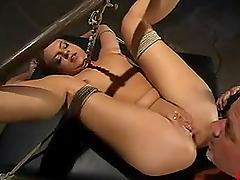 Gorgeous Sarah Sunn gets fucked hard..