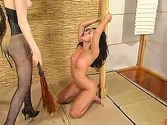 Hot Roxy Jezel gets whipped, toyed and..