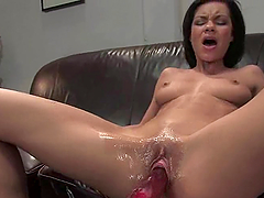 Ruby Knox gets a great orgasm while..