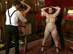Bella Rossi gets a cock in her mouth..