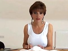 Heart-Stopping Brunette Mature With..