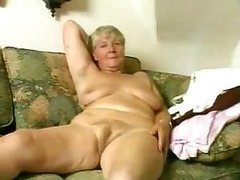 Blonde Granny Fucks Her Hairy Beefy..