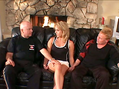 Hot Blonde Housewife Got Hard Fucked..