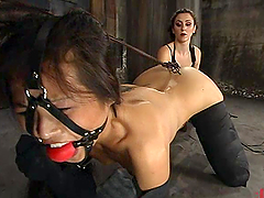 Asian Nyomi Zen Tortured and Toyed in..