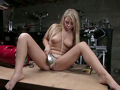 Sybian and Fucking Machine Giving..