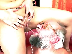 MILF Kitty Rich fuck with bearded..