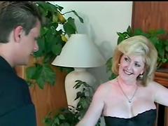 Mature Blonde Having Hardcore Sex With..