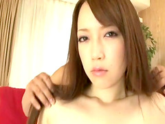 Lovely Asian girl gets her hairy pussy..