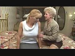Great Lesbian Action With Two Mature..