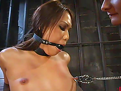 Veronica Lynn gets pulled by the..