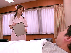 Alluring Asian Nurse Sayuki Kanno..