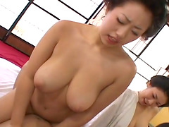 Horny Japanese chicks with big boobs..