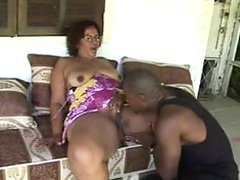 Big Assed Latina Granny Gets Pounded..