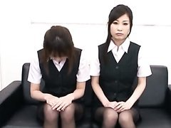 Sexy Asian Secretaries Give a Nice..