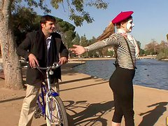 Lexi Belle Is A Sexy Mime