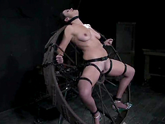 Bella Rossi gets restrained and enjoys..