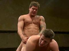 Logan Scott and Parker London practise..