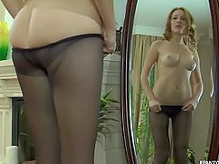 Bonerific Pantyhose Scene With The..