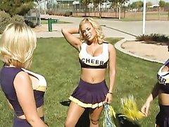 Incredibly Busty Cheerleader Shyla..