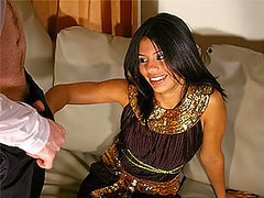 Arab Hottie Gets Her Hands On A Very..