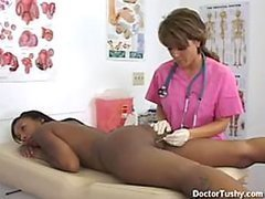 Insanely Hot Ebony Teen Gets Her Pussy..