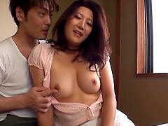 Hot video of a Japanese milf  getting..