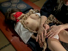 Sansai makes his kinky Japanese slave..