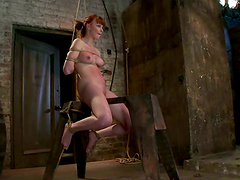 Crazy BDSM Action in Bondage video..