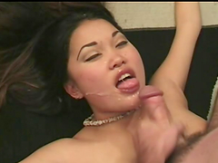 Pregnant Asian girl Mari Lee gets..