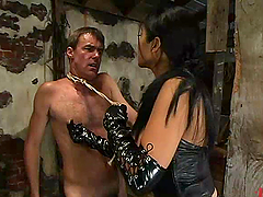 Sizzling and terrifying bitch Mika tan..