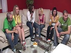 Czech Swingers Go Crazy in This Group..