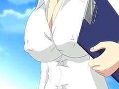 Sexy Manga Brunette With Giant Boobs..