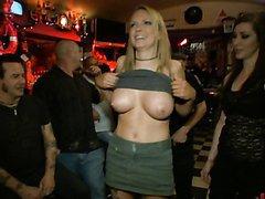 Blonde Milf Has Public Sex On Top A..