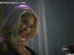 Asian Kelly Hu Dancing While Blonde..