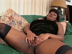 This Ebony BBW Loves to get Herself..