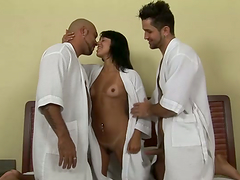 Kelly gets fucked by horny bisexuals..