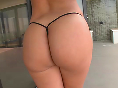 Rough sex with the thick brunette..
