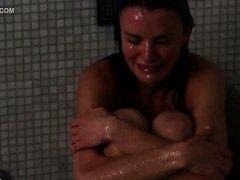 Beautiful Ana Alexander Crying Naked..