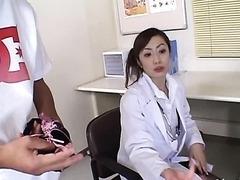 Horny Asian Nurse Thinks Fucking is..