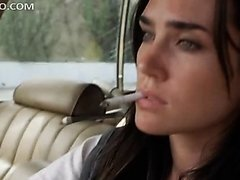 Green Eyed Jennifer Connelly Washing..